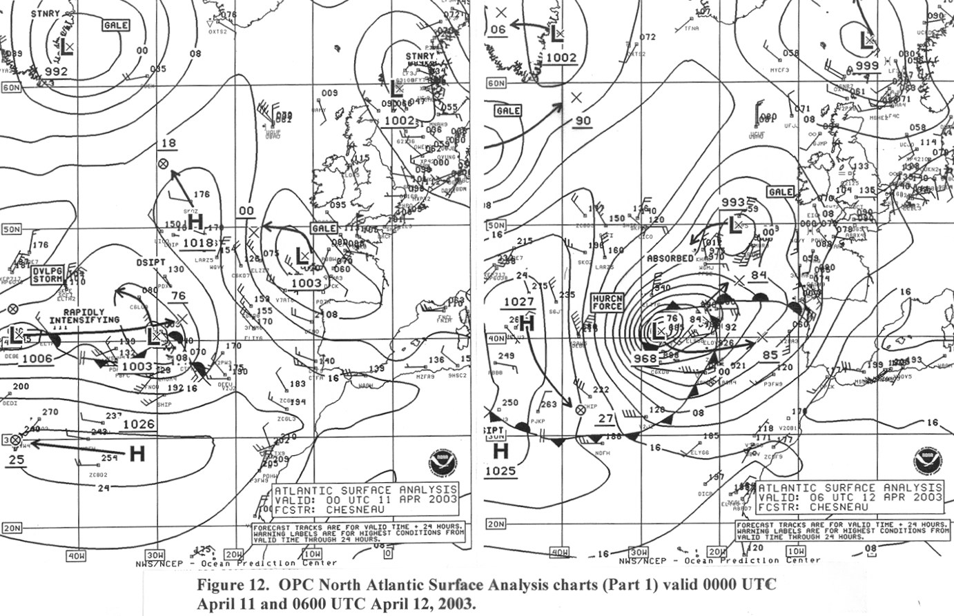 Figure 12 - Surface Analysis Chart - Click to Enlarge