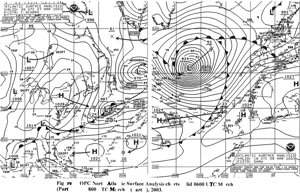 Figure 4 - Surface Analysis Chart - Click to Enlarge