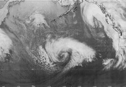 Figure 11 - Infrared Satellite Image - click to  enlarge