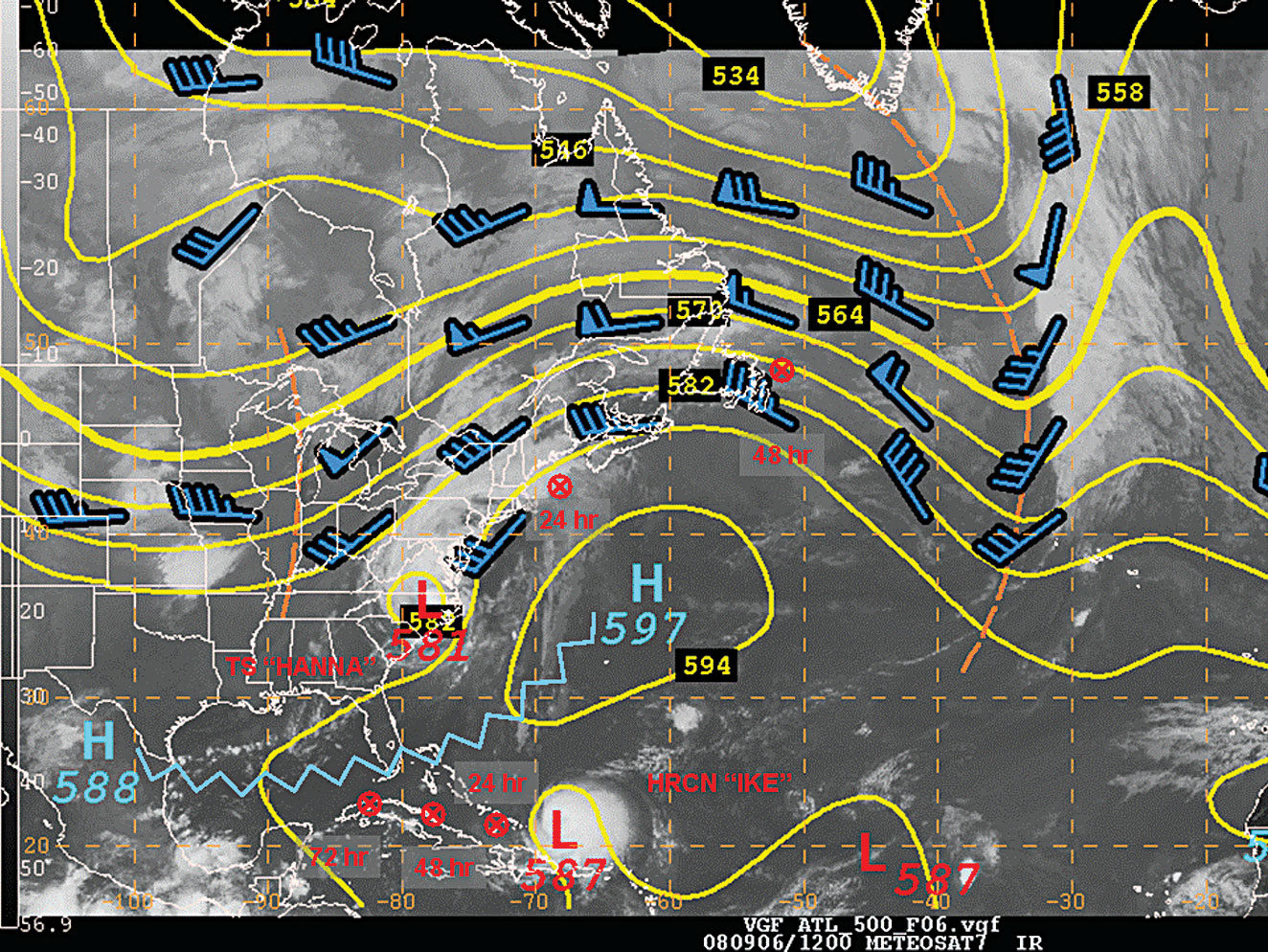 Mariners Weather Log Vol No December - Us air flow map